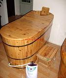 蒸好牌香柏木熏蒸泡浴两用桶,中药熏蒸美容减肥,质量保证全年保修