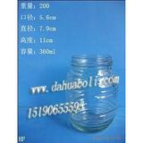 360ml蜂蜜瓶 燕窝瓶 罐头瓶 酱菜瓶