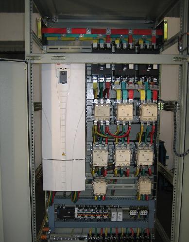 plc控制变频器的恒压供水系统(软启动控制系统)