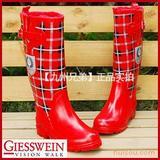 日本外贸时尚高筒雨鞋女士雨鞋雨靴保暖雨鞋加棉雨鞋水鞋胶鞋套鞋