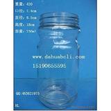 730ml罐头瓶 酱菜瓶 蜂蜜瓶 各种食品玻璃瓶