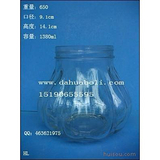1380ml酱菜瓶 罐头瓶 定做各种食品玻璃瓶