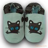 婴儿软底鞋-大眼睛猫