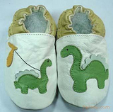 婴儿软底鞋-大小恐龙