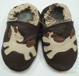 婴儿软底鞋-鸳鸯奔马