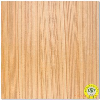 【广新盛】天然泰柚木直纹饰面板三聚氰胺板生态板贴
