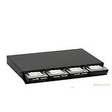 ORICO 9848RUSI3 桌面式1U专业磁盘阵列免工具 支持12TB 火线