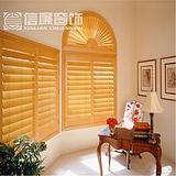 上海实木百叶窗 木窗 别墅窗 别墅门、移门、厨门订做