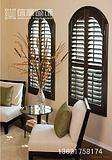实木百叶窗批发、椴木百叶窗、实木百叶门、移门 、折叠门