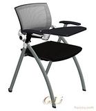 网布培训椅可旋转写字板Training chair