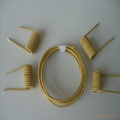 薄型双玻璃丝包铜扁线