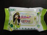 湿巾玫瑰心语32片中草药洁阴湿巾保健品家居用品批发货源