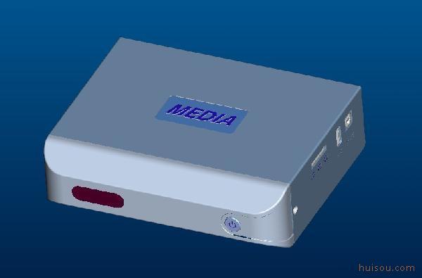 沸点网络电视播放器外壳/沸点网络电视播放器塑胶壳