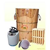 现代足浴足疗最佳蒸汽足浴桶可蒸可泡使用方便