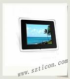 10.4寸广告数码相框,黑色镜面数码相框