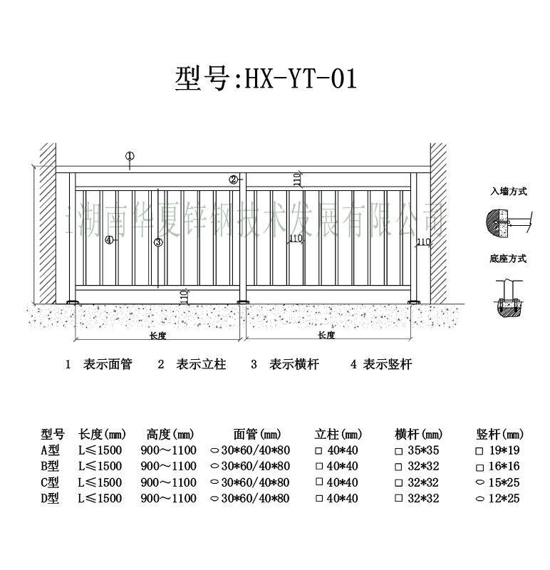 新中式阳台平面图