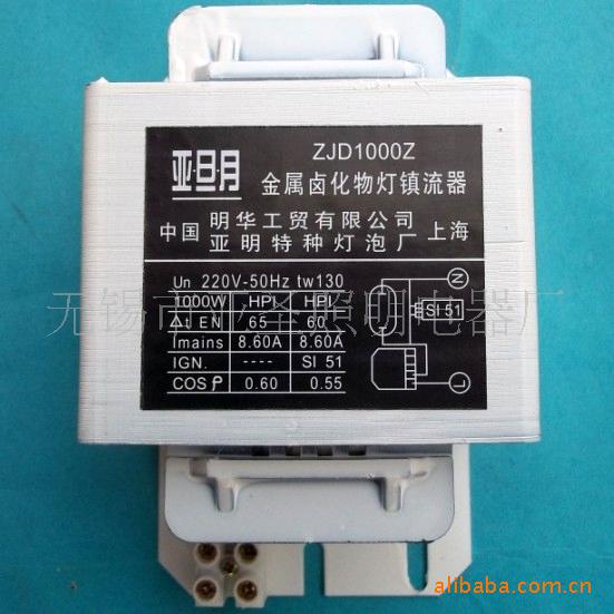 1000w金属卤化物灯 电感镇流器 经济型(另有蓝色) 厂家直供