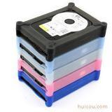 3.5寸 硬盘硅胶套 硬盘保护套 防静电 防滑套 硬盘保护盒
