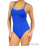 女子塑身泳装 纯色性感连体泳衣