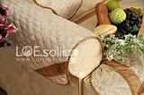 路易雪莱 咖啡港湾沙发扶手巾米绗缝