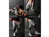 2011夏季新款男式时尚修身韩版低腰修身型男士七分裤