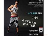 2011韩国同步新款 宽松型时尚休闲运动七分裤