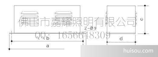 配电输电设备 供应110w上海亚明 亚字牌金卤箱/钠电器箱 原装 冷轧板
