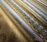 供应金银PVC皮革 金银铝箔 壁布