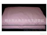 龙吉盛100%桑蚕丝被手工全棉贡缎(净重两斤)印有高级蚕丝被字母