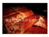 莎鲨家纺甲壳素面料采用中国元素欧洲元素相结合图案醒目