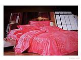龙吉盛醉爱喜庆爱在花季60支长绒棉金粉图案面料手感好,容易洗涤