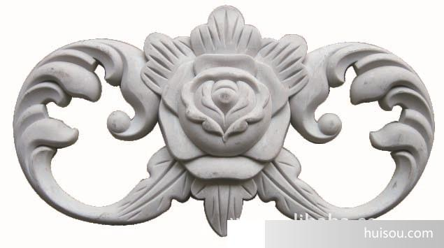 仿古塑料花-雕刻花-家具配件工艺品工艺塑料花欧式