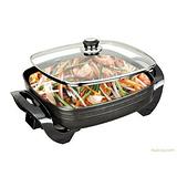 韩式电热锅,电煎锅,电烤盆,四方锅,方型比萨锅