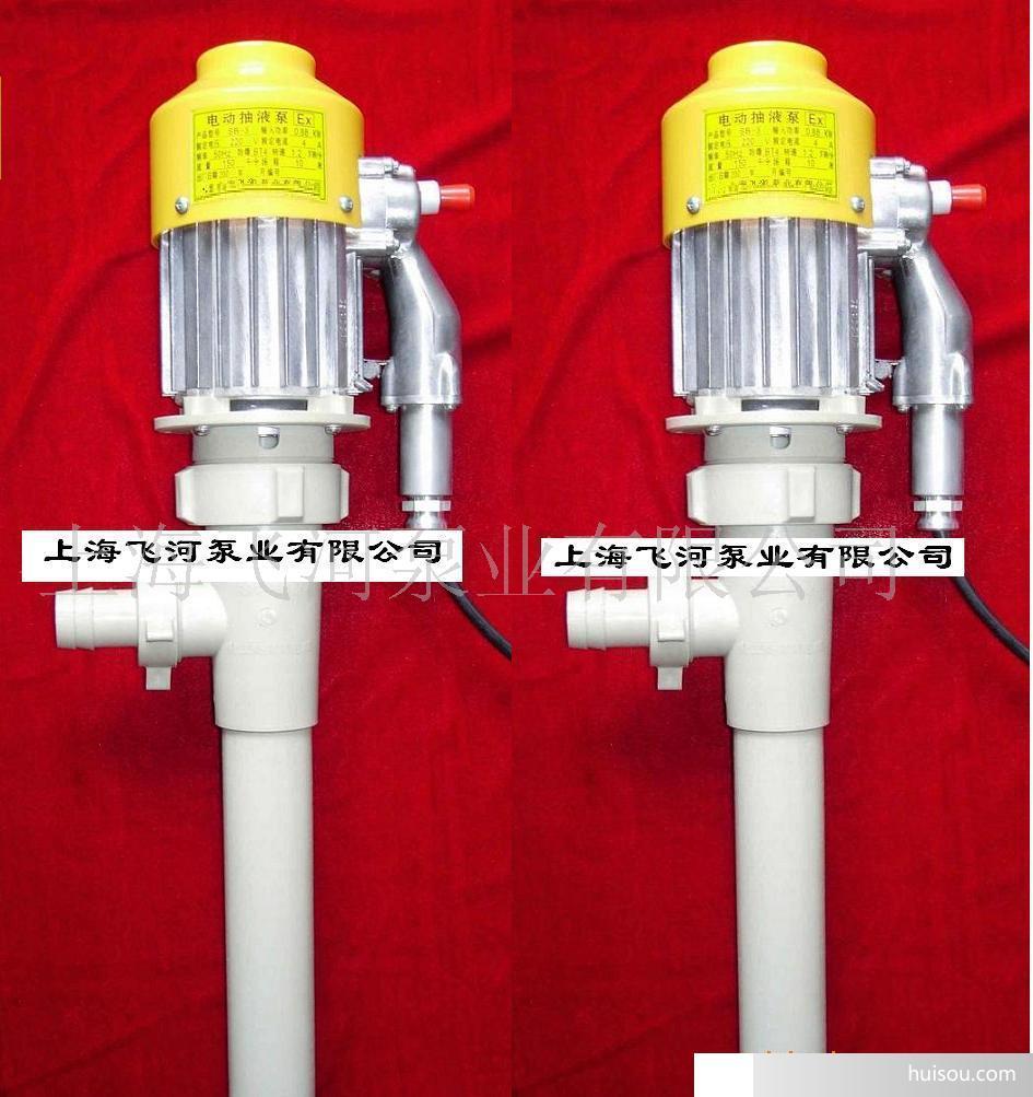 供应飞河rpp-50塑料电动桶泵//轴流式油桶泵
