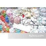供应纯棉白色碎布,A4大,巴掌大,不掉毛布碎(图)
