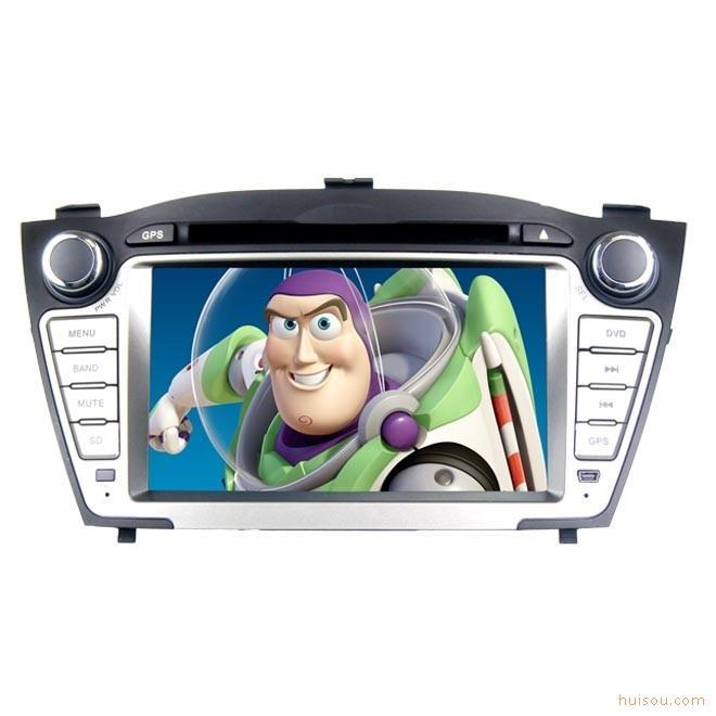 索雳dvd现代ix35车载dvd导航仪