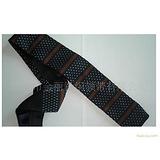 厂方批发供应条纹涤丝针织领带