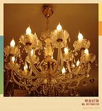 酒店灯具|传统水晶蜡烛灯|欧式水晶蜡烛灯|品牌蜡烛灯|奢华水晶蜡烛灯