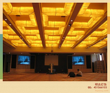 酒店仿云石工程灯|酒店大堂工程灯|非标工程灯定制