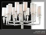 酒店大堂吊灯|现代风格不锈钢吊灯|现代不锈钢吸顶灯|大型商场过道吸顶灯|奢华现代工程吊灯