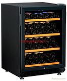 JH-103(风冷)双温154L 46瓶榉木层架红酒柜 压缩机酒柜