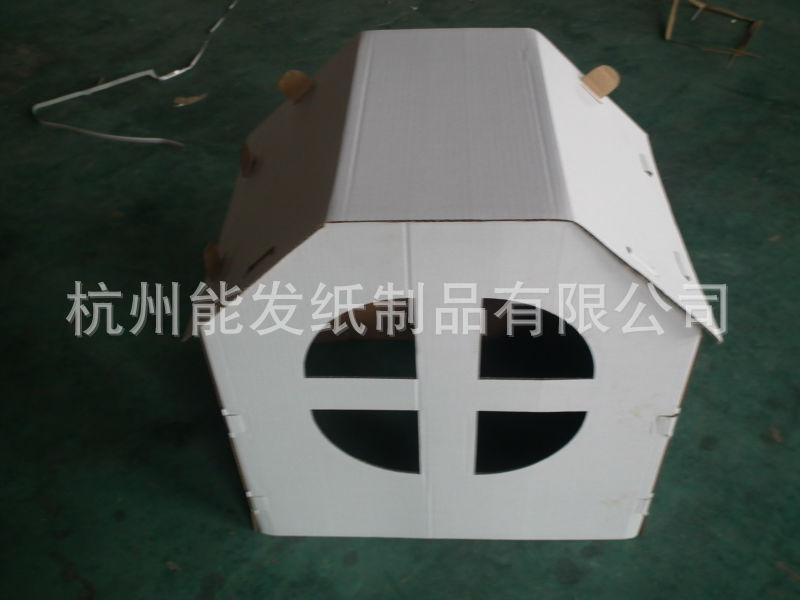 低价出售能发牌儿童纸房子展示盒