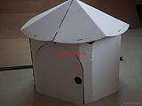 低价出售能发牌儿童纸房子纸板盒