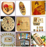 提供广州木板木材数码印花批量加工