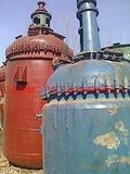供应二手5立方搪瓷反应釜