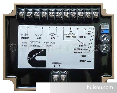发电机调速器 康明斯调速板3037359