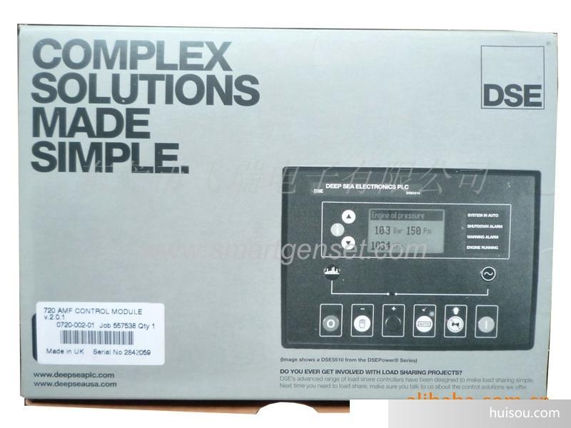 发电机组零配件 深海控制器dse720