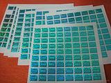 激光防伪标签、镭射防伪标签