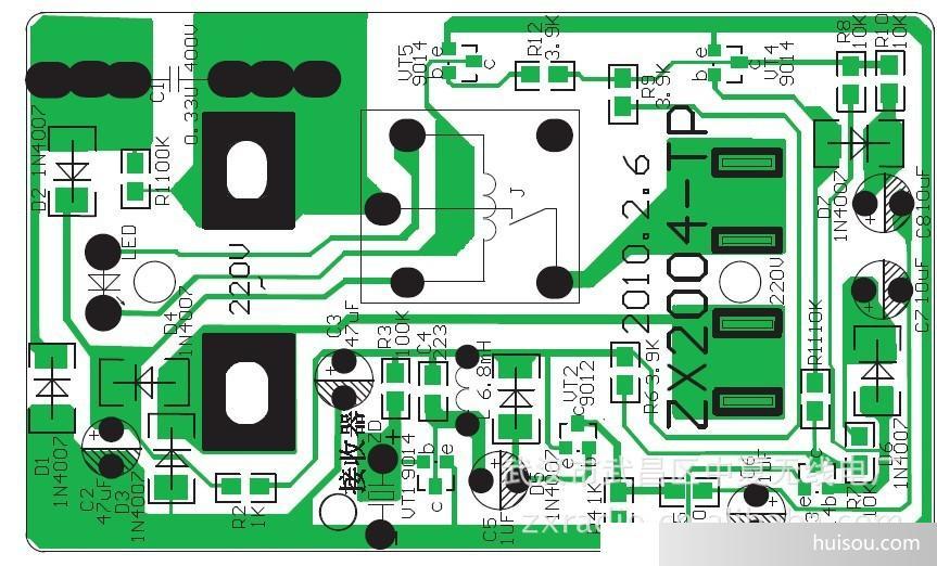zx2004型亚超声遥控开关电子制作教学套件