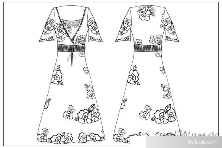服装 女装 新款连衣裙 波西米亚长裙子沙滩裙 批发100件起订 007#  尺